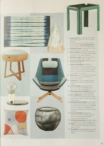 """Not just a table"" in Femina Bolig"