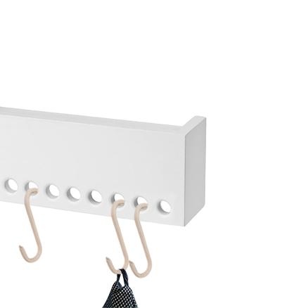 Nordic Function Upgrade læder S-kroge i naturlæder til knagerækken leather s-hooks for your coat rack