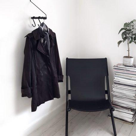 Nordic Function dansk design Addmore bøjlestang sort i miljø