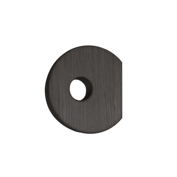 Nordic Function Hook to Hanger sort eg knage til garderoben hook in black oak for your wardrobe